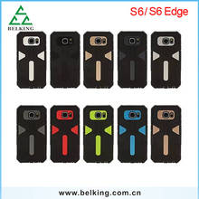 Mix Colors Durable Plastic TPU Covers Phone Case For Samsung Galaxy S6/ S6 Edge