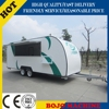 2015 HOT SALES BEST QUALITY mobile restaurant food truck towable food truck designed food truck