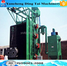 Steel structures hanger shot blasting machine for rust removal/Hanger Hook Type Casting Sandblasting Machine