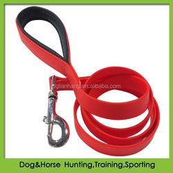 DIY customized waterproof dog collar and leash in PVC soft padding