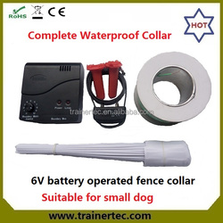 Hidden wireless waterproof electric dog fence collar with high quality