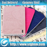new arrival leather case for 6 inch tablet pc