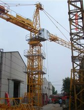 Overseas Service Remote Operation Advanced High Load Capacity Tower Crane TC7050 on sale