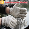 SRsafety 7G white cotton hand protect gloves colored cotton gloves