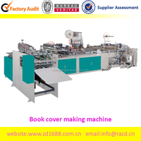 Automatic clear PP book protector making machine