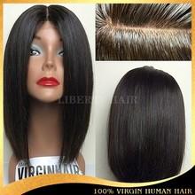 China Wig Supplier Brazilian Virgin Silky Straight Full Lace Wig In Dubai