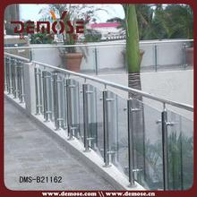 tempered glass aluminum fence for porch
