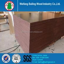 mr / wbp / melamine glue Poplar core film faced plywood / film coated plywood