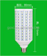 High power 20W 25W 30W 35W 40W E27 led corn light 2800k~6500k