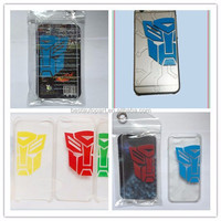 Mobile Phone Case transparent hard PC protective Anti-scratch cellphone shell