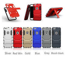 High quality cell phone accessories slim armor for iphone 6 back cover armor case factory price