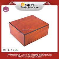 Luxury wooden personalized special cigar gift box