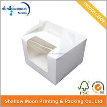 Custom design paperboard disposable food packaging