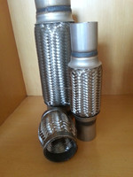 hot saling 304 stainless steel expansion bellow with expanded ends