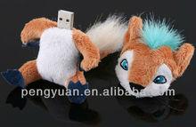 Cute plush toy usb flash drive , toy usb pendrive (PY-U-278)