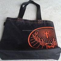 black polyester bag/ 600d polyester cooler bags small polyester drawstring bag