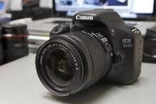 Canon EOS 550D 18.0 MP Digital SLR Camera - Black - Body Only