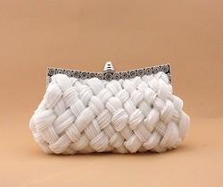 2015 Korea Style Silk Material clutch purse Beauty Women Evening Clutch Bags