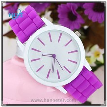 2012 fashion hand watches for girl watches with changeable silicone straps