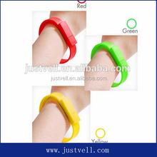 OEM custom logo usb flash drive wrist watch nice wrist band, custom reflective slap bracelets