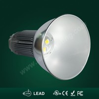 IP65 CE RoHs SAA UL Certified 80watt LED Hi Bay Light with Meanwell driver and Bridgelux Chip