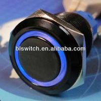 IP67 waterproof electrical 19mm push button foot switch for car