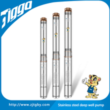TIGGO 4ST2/8 single phase stainless steel Deep Well Submersible Pump With Control Box