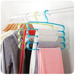 J429 Multifunctional palstic clothes hanger for sale