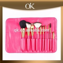 QK pro goat hair 10 pcs makeup brush tools