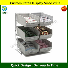 Steel Wire drawer Packet Rack YM6-048