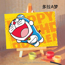 YiWu Factory direct sale diy painting by numbers canvas diy painting