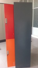 colorful doors kids steel locker for home