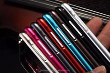 Ultra thin aluminum bumper cellphone case for Samsung note 4