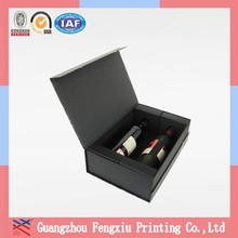 Single Bottle Wine Glass Cardboard Gift Boxes