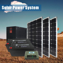 Factory Price High Quality Off Grid Power 1000w Living Solar Energy System