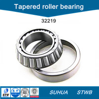 AISI52100 material single row tapered roller bearing 32219