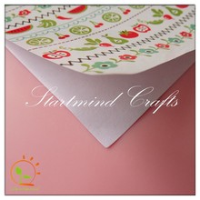 Good quality Die Cut adhesive cute fruits paper sticker for Scrapbooking/decoration/student use