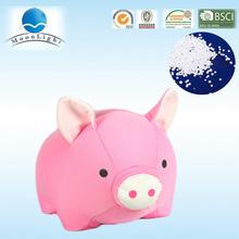 Nuevo diseño, blandos populares animales de microbolas cerdo rosa juguetes