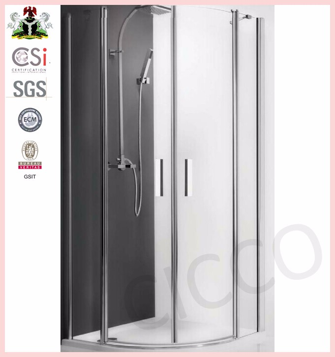 China High Quality Sliding Shower Cubicle Sizes Suppliers and ...