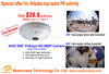 1.3MP AHD 960P 360 Degree Camera IR Panoramic CCTV Camera with Fisheye Lens