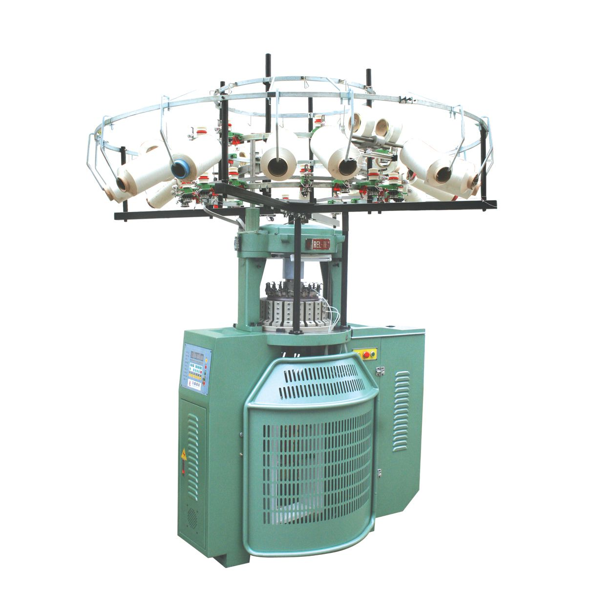 Knitting Machines : High speed double jersey circular knitting machine for
