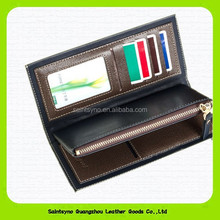 14170 Functional Bifold PU Cell Phone Credit Card Holder, Purse Clutch Wallet