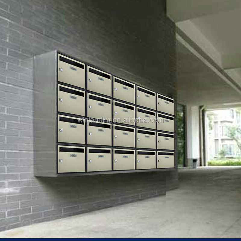 apartment mailbox for office or for mansion buy commercial mailboxes