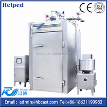 Electric heating fish sausage baking oven with trolley