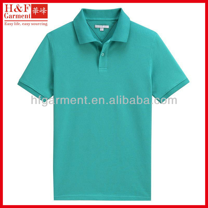 100 cotton pique polo shirt for men real design cheap