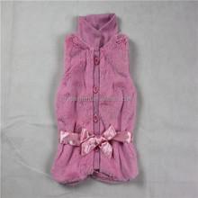 PV plush fur coat sleeveless fur coat for girls