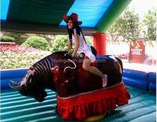 2016 professional design Amusement Park Equipments Mechanical Rodeo Bull for sale