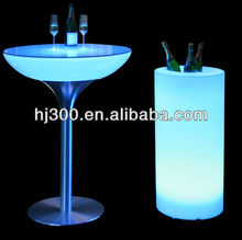 2014 Modern hot sale Led cocktail Table