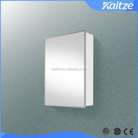 Cheap powder coating stainless steel bathroom cabinet, wall mount medicine cabinet