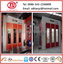 TY-L7012A Fuel Heating Large Spray Booth which suitable for oversize vehicle(CE)
